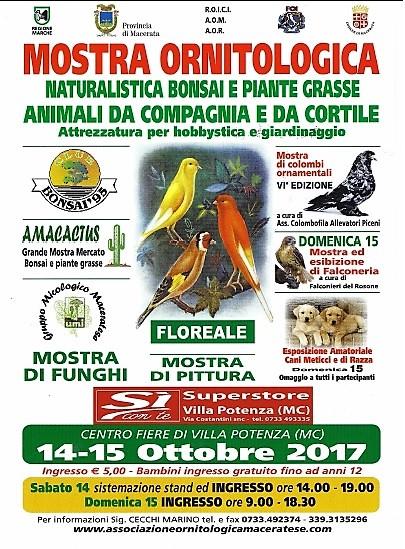Calendario Fiere Ornitologiche.Associazione Colombofila Allevatori Piceni Mostre